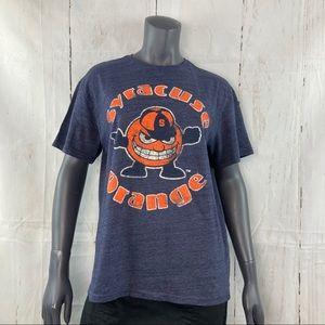 Syracuse orange blue T-shirt